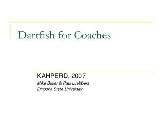 Dartfish for Coaches