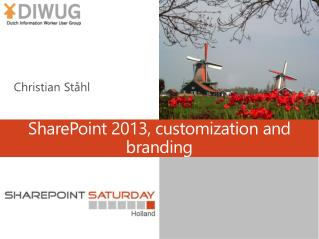 SharePoint  2013, customization and branding