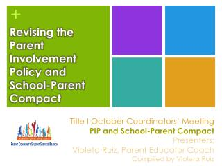 Revising the Parent Involvement Policy and School-Parent Compact