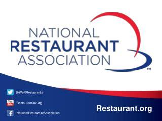 @WeRRestaurants