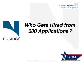 Who Gets Hired from 200 Applications?