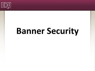 Banner  Security
