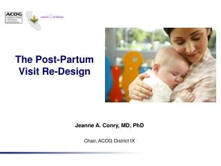 The Post-Partum Visit Re-Design