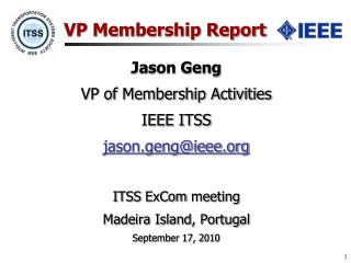 VP Membership Report