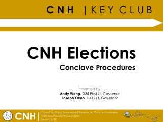 CNH Elections