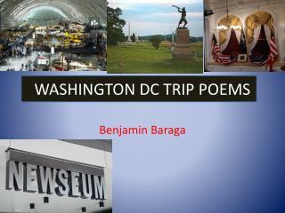 WASHINGTON DC TRIP POEMS