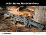 M60 Series Machine Guns
