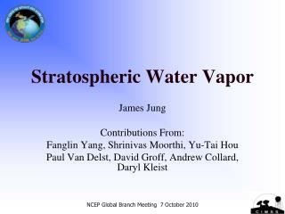 Stratospheric Water Vapor