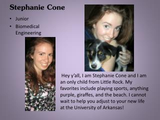 Stephanie Cone