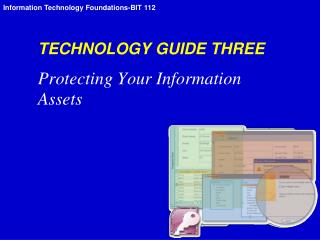 TECHNOLOGY GUIDE THREE