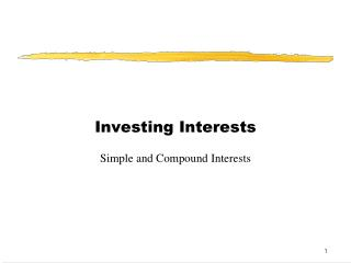 Investing Interests