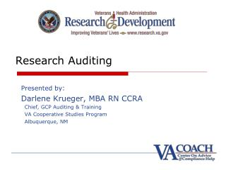 Research Auditing