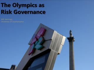 The Olympics as Risk Governance