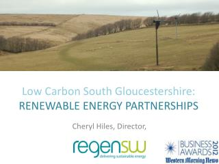 Low Carbon South Gloucestershire: RENEWABLE ENERGY PARTNERSHIPS