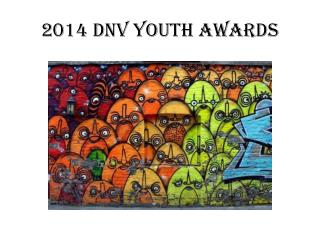 2014 DNV Youth Awards