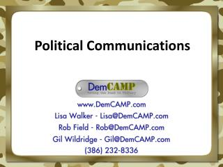 Political Communications