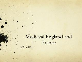 Medieval England and France