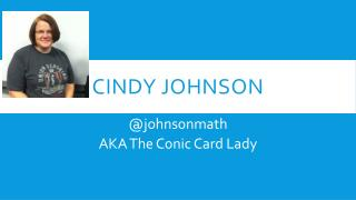 Cindy Johnson