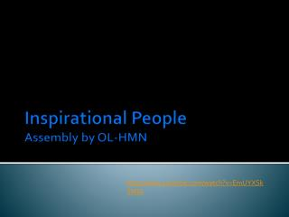 Inspirational People Assembly by OL-HMN