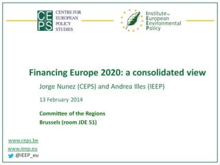 Financing Europe 2020: a consolidated view