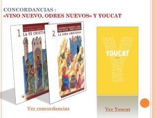 CONCORDANCIAS :  «VINO NUEVO, ODRES NUEVOS» Y YOUCAT