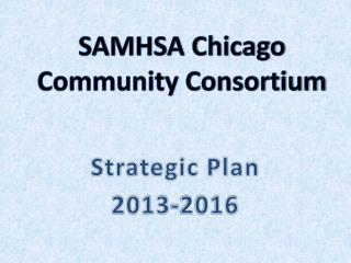 Strategic Plan 2013-2016