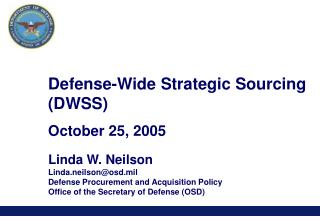 Defense-Wide Strategic Sourcing (DWSS)