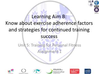 Unit 5: Training for Personal Fitness Assignment 1