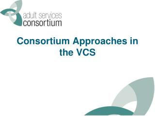 Consortium Approaches in the VCS