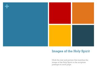 Images of the Holy Spirit