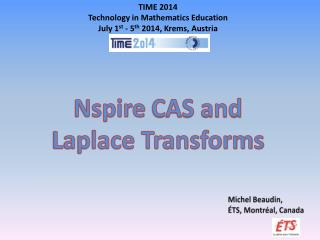Nspire  CAS and  Laplace Transforms