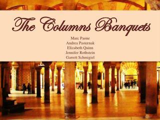 The Columns Banquets