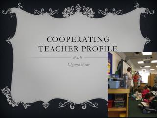 Cooperating teacher profile