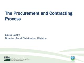 The Procurement and Contracting Process