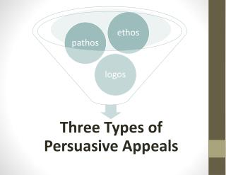 3 Types of Persuasive Appeals