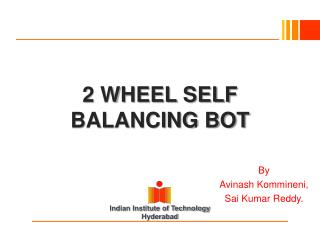 2  WHEEL SELF BALANCING BOT