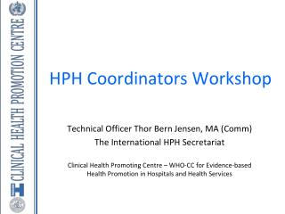 HPH  Coordinators  Workshop