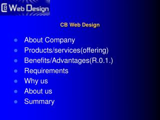 CB Web Design