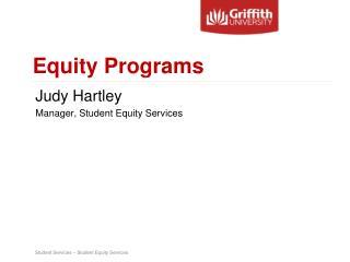 Equity Programs