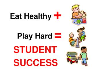 Eat Healthy + Play Hard = STUDENT SUCCESS