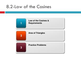8.2-Law of the Cosines