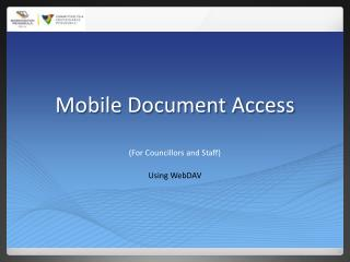 Mobile Document Access