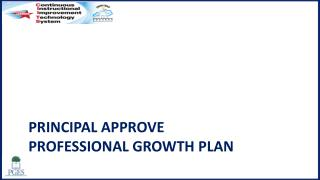 Principal Approve  Professional Growth Plan