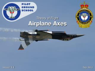 Theory of Flight Airplane Axes