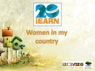 Women in my country