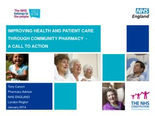 IMPROVING HEALTH AND PATIENT CARE THROUGH COMMUNITY PHARMACY  -  A CALL TO ACTION