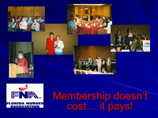 Membership doesn't cost… it pays!