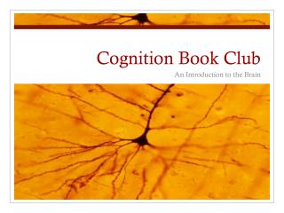 Cognition Book Club