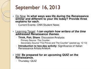 September 16, 2013