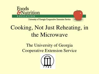 Cooking, Not Just Reheating, in the Microwave
